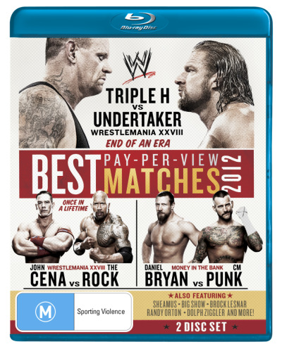 WWE: The Best Pay-Per-View Matches of 2012 (2 Discs)