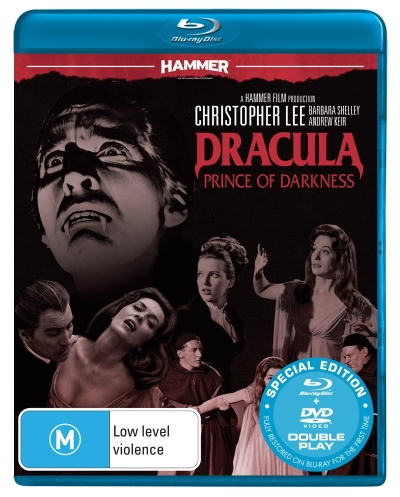 Hammer Horror: Dracula - Prince Of Darkness (Blu-ray/DVD) (2 Discs)