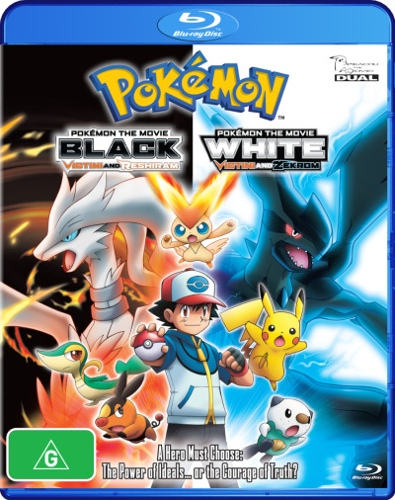 Pokemon The Movie 14: Black and White (Dual Pack)