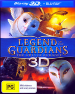 Legend of the Guardians: The Owls of Ga'hoole (3D Blu-ray/Blu-ray)