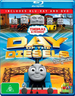 Thomas & Friends: Day of the Diesels - The Movie (Blu-ray/DVD)