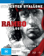 Rambo Trilogy (First Blood / First Blood: Part II / Rambo III) (3 Disc Ultimate Edition)