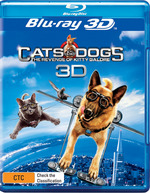 Cats and Dogs 2: The Revenge of Kitty Galore (3D Blu-ray/Blu-ray)