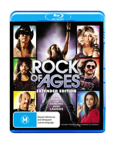 Rock of Ages (Blu-ray/DVD/Digital Copy) (Extended Edition) (2 Discs)