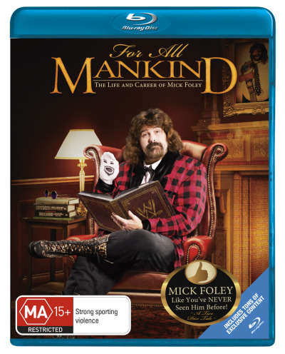 WWE: For All Mankind - The Life and Career of Mick Foley (2 Discs)