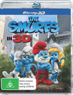 The Smurfs (2011) (3D Blu-ray)