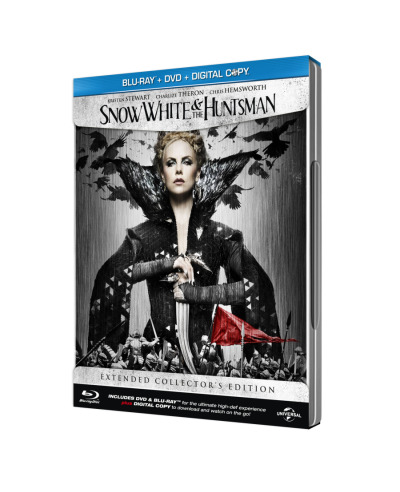 Snow White and the Huntsman (Blu-ray/DVD/Digital Copy) (Steelbook) (3 Discs)