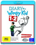 Diary Of A Wimpy Kid 1 and 2
