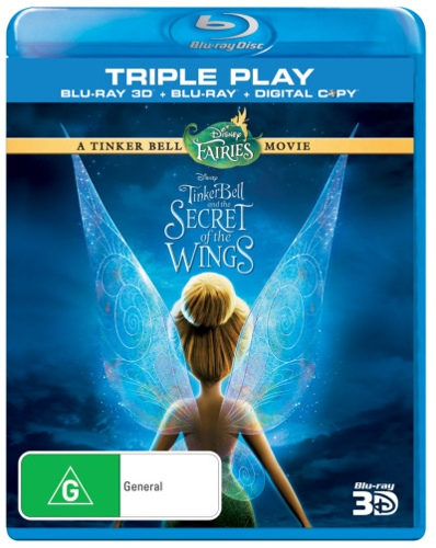 Tinker Bell and the Secret of the Wings (3D Blu-ray/Blu-ray/Digital Copy) (3 Discs)