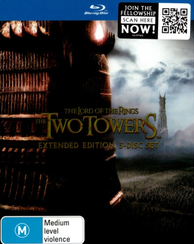 The Lord of the Rings: The Two Towers (Extended Edition) (5 Discs)