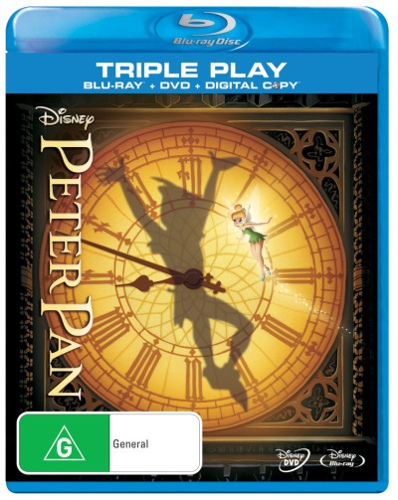 Peter Pan (Blu-ray/DVD/Digital Copy)