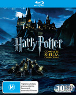 Harry Potter Complete Collection (8 Disc Box Set) (Includes Harry Potter and the Deathly Hallows - P