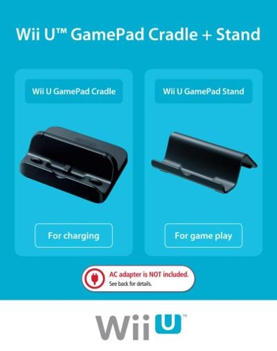 Wii U GamePad Cradle and Stand