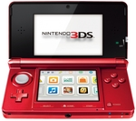 Nintendo 3DS Console Flame Red