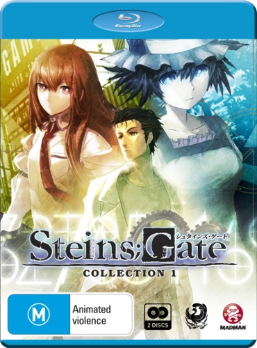 Steins; Gate Collection 1 (Eps 1-12) (2 Discs)