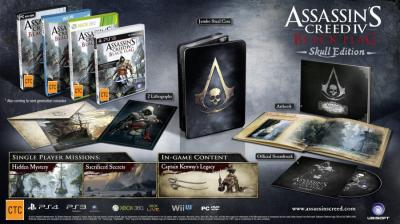 Assassins Creed 4 Black Flag Skull Edition