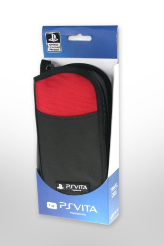 4GAMERS PS VITA Travel Case - Red
