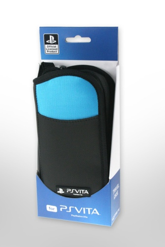 4GAMERS PS VITA Travel Case - Blue