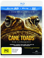 Cane Toads: The Conquest (3D Blu-ray/Blu-ray/DVD)