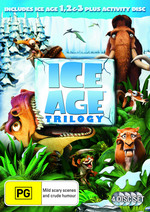 Ice Age 1 2 and 3 (3 Discs)