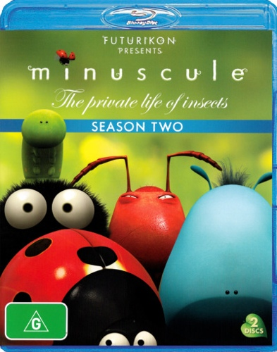 Minuscule: The Private Life of Insects - Season 2 (2 Discs)