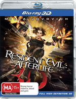 Resident Evil: Afterlife (3D Blu-ray/Blu-ray)
