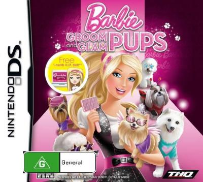 Barbie Groom Glam Pups