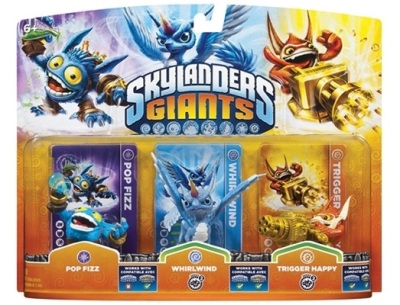 Skylanders Giants Triple Pack 1