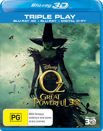 Oz The Great and Powerful (3D Blu-ray/Blu-ray/Digital Copy)