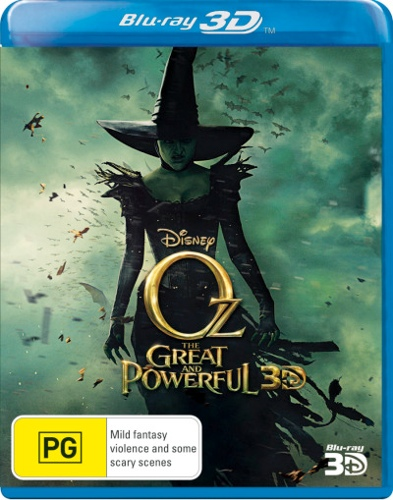 Oz The Great and Powerful (3D Blu-ray)