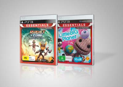 Ratchet and Clank A Crack in Time and Little Big Planet (Essentials)