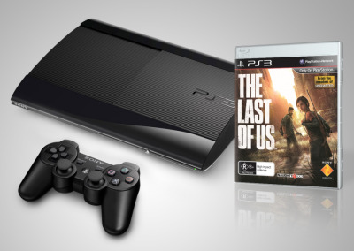 PlayStation 3 500GB Console with The Last of Us