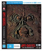 Army of Darkness (The Necronomicon Packaging) (Blu-ray/DVD)