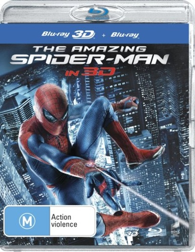 The Amazing Spider-Man (Spiderman 4) (3D Blu-ray/Blu-ray) (2 Discs)