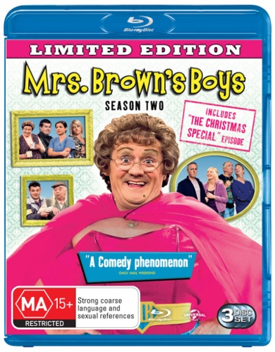Mrs Brown's Boys: Season 2 (with Christmas Special)