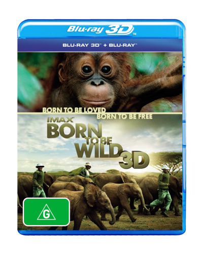 Born to be Wild (IMAX) (3D Blu-ray/Blu-ray)