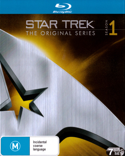 Star Trek The Original Series: Season 1 (Remastered) (7 Discs)