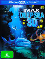 Imax: Deep Sea (3D Blu-ray/Blu-ray)