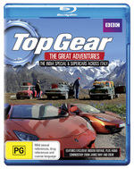 Top Gear The Great Adventures: The India Special / Supercars Across Italy