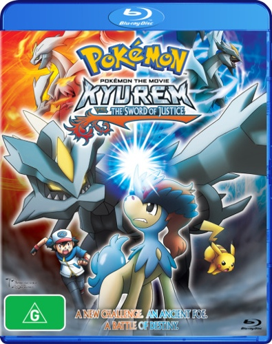 Pokemon The Movie: Kyurem vs The Sword of Justice
