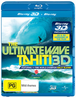 Ultimate Wave: Tahiti (3D Blu-ray/ Blu-ray)