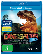 Dinosaurs: Giants of Patagonia (3D Blu-ray/Blu-Ray)
