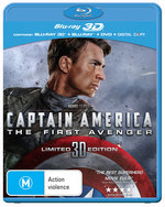 Captain America: The First Avenger (3D Blu-ray/Blu-ray) (2011) (2 Discs)