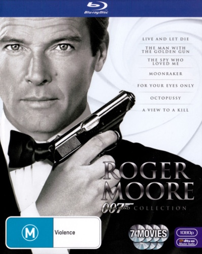 Roger Moore Bond Box Set (7 Disc)