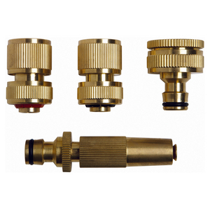 Patio by Jamie Durie Brass Hose Set