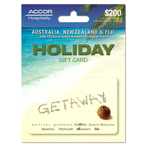 Accor $200 Gift Card