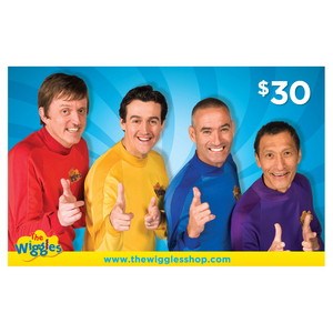 Wiggles $30 Gift Card