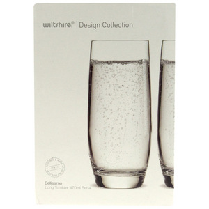 Bellissimo Long Tumbler 4 x 470ml Set Wiltshire Design Collection