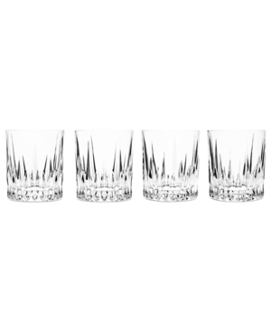 Godinger Drinkware, Set of 4 Aberdeen Double Old Fashioned Glasses