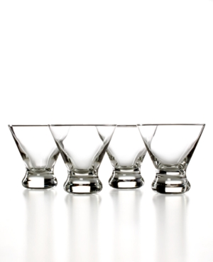 The Cellar Glassware, Set of 4 Cocktail Glasses